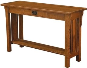 Mission Oak Sofa Table 7