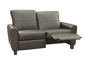 leather loveseat modern recliners tdtrips s reclining contemporary arms chairs