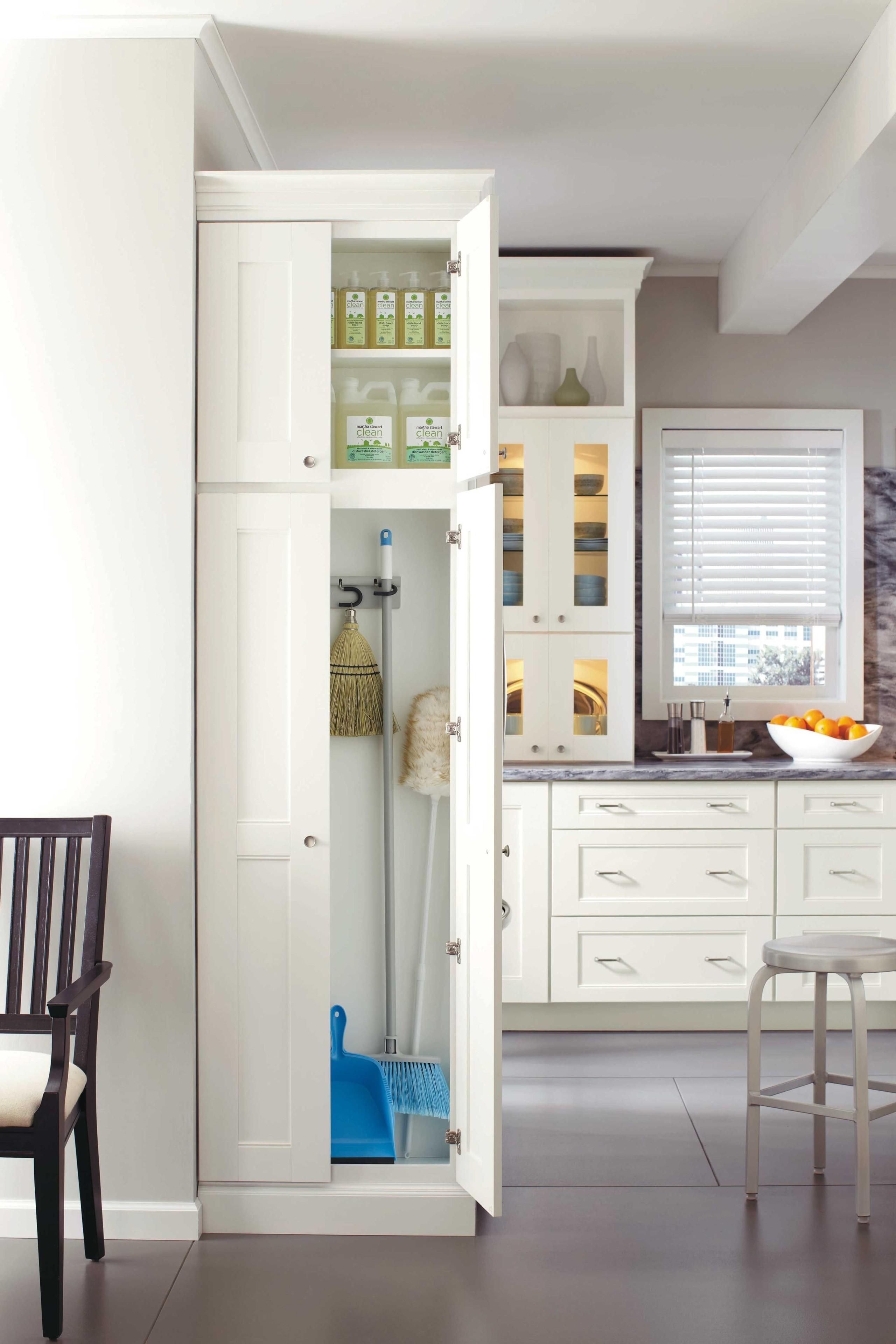 narrow pantry cabinet ideas on foter rh foter com Pantry Broom Closet kitchen broom cabinet 600mm beech