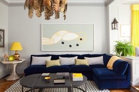 Pleasing Navy Blue Sectional Sofa Ideas On Foter Pabps2019 Chair Design Images Pabps2019Com