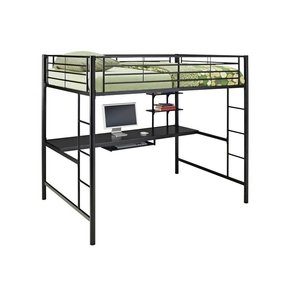 Metal Bunk Bed With Desk Ideas On Foter
