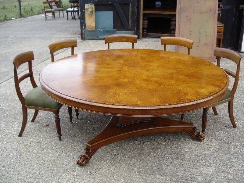 Oval Dining Table Seats 12
