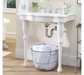 Pedestal Sink Console Foter