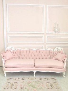 Pink tufted sofa 5