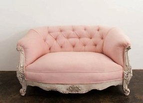 Pink tufted sofa 7