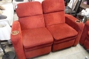 Reclining loveseats with cup holders 9
