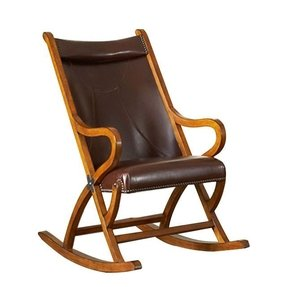 Leather Glider Rocker Foter