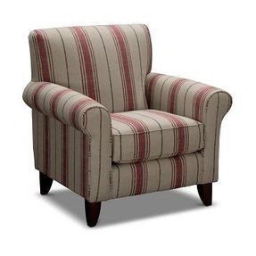 Enjoyable Striped Accent Chair With Arms Ideas On Foter Beatyapartments Chair Design Images Beatyapartmentscom