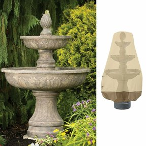 Residential garden fountains