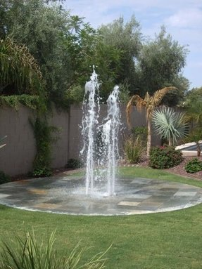 Residential water fountains