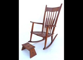 Peachy Wooden Indoor Rocking Chairs Ideas On Foter Lamtechconsult Wood Chair Design Ideas Lamtechconsultcom