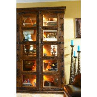Rustic Curio Cabinets