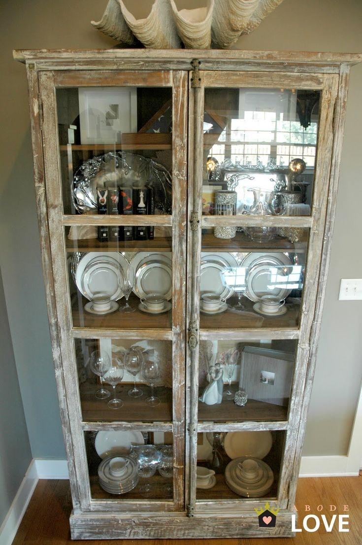 Rustic Kitchen Hutch