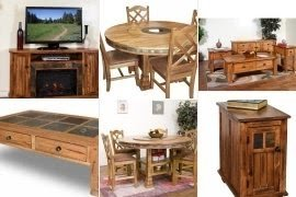 Sedona Rustic Oak Furniture