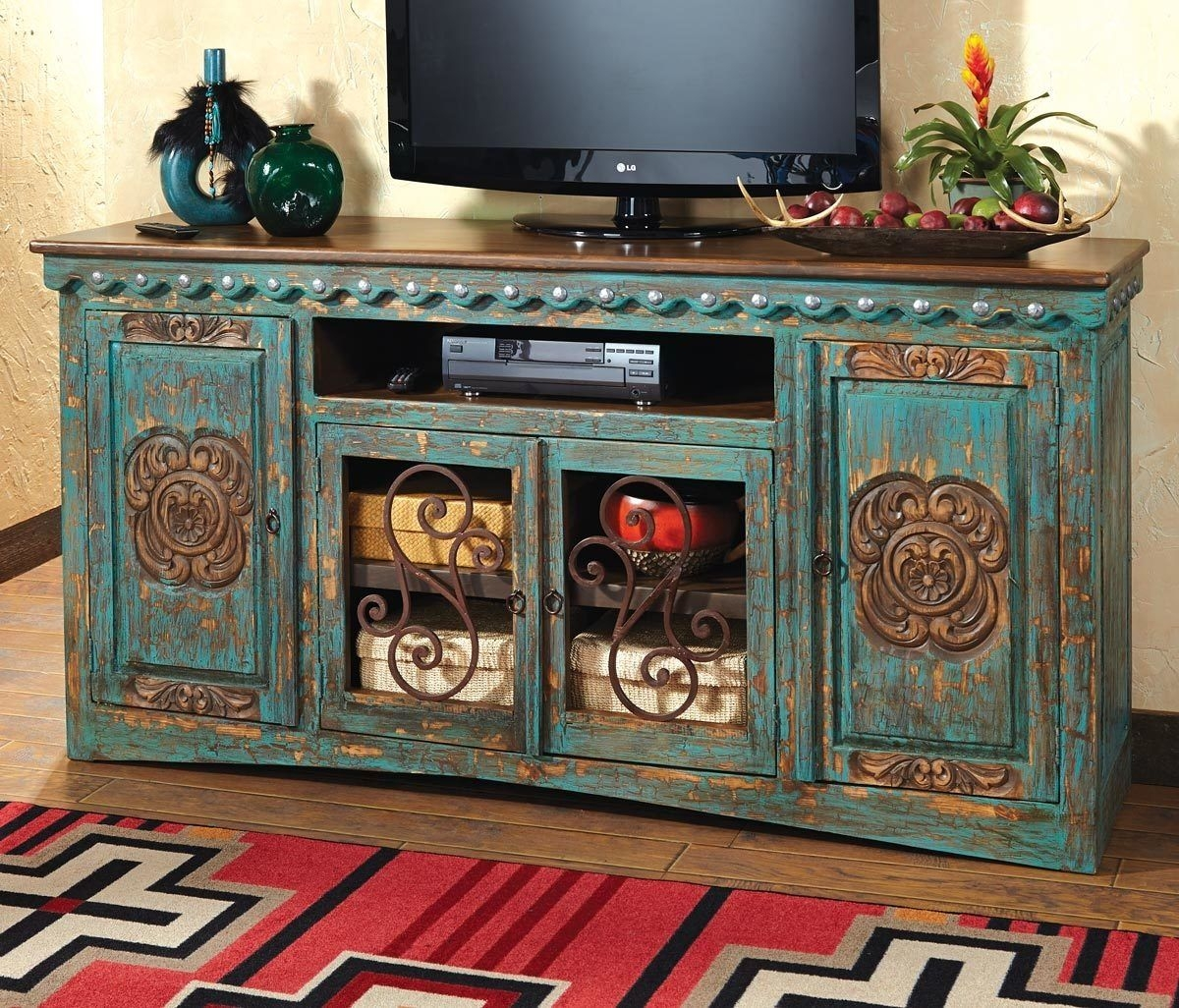 Awesome Shabby Chic Media Console