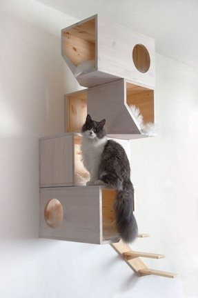 Solid wood cat furniture 2