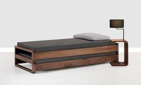 twin platform bed. Solid Wood Twin Platform Bed O
