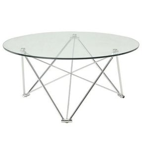 Round Chrome Coffee Table Ideas On Foter