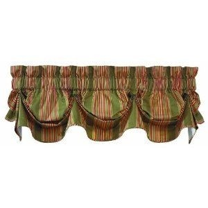 "Sweetwater Stripe 79"" Curtain Valance"