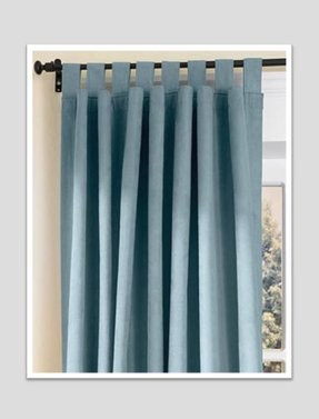 Tab top country curtains
