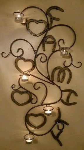 Metal wall art candle holder foter tealight wall decor aloadofball Choice Image