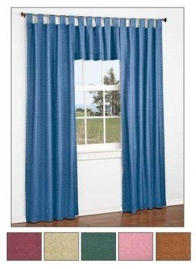 Thermal tab top curtains 7