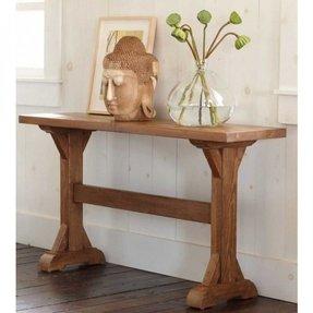 Trestle Hall Table