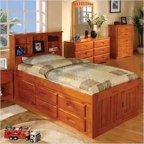 Twin Captains Bed With Trundle And Storage Ideas On Foter