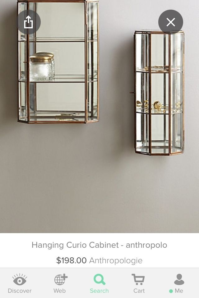 Wall Mount Curio Cabinet 4
