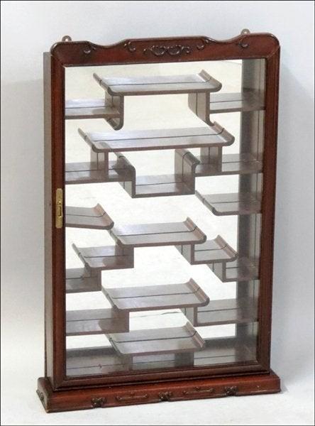 Elegant Wall Mounted Curio Cabinet 2