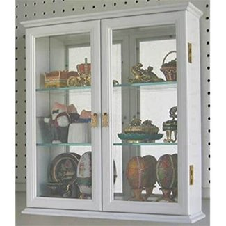 Wall mounted display cabinets