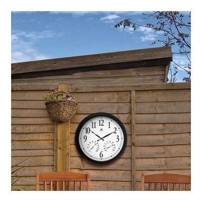 Weather Clocks Atomic, Atomic Clock, Atomic Wall Clock, Large Wall Clocks,  Outdoor