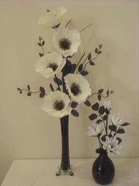 Silk flower arrangements in vases foter white flower arrangements in tall vases mightylinksfo