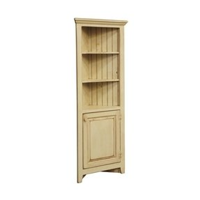 Wood Corner Curio Cabinet