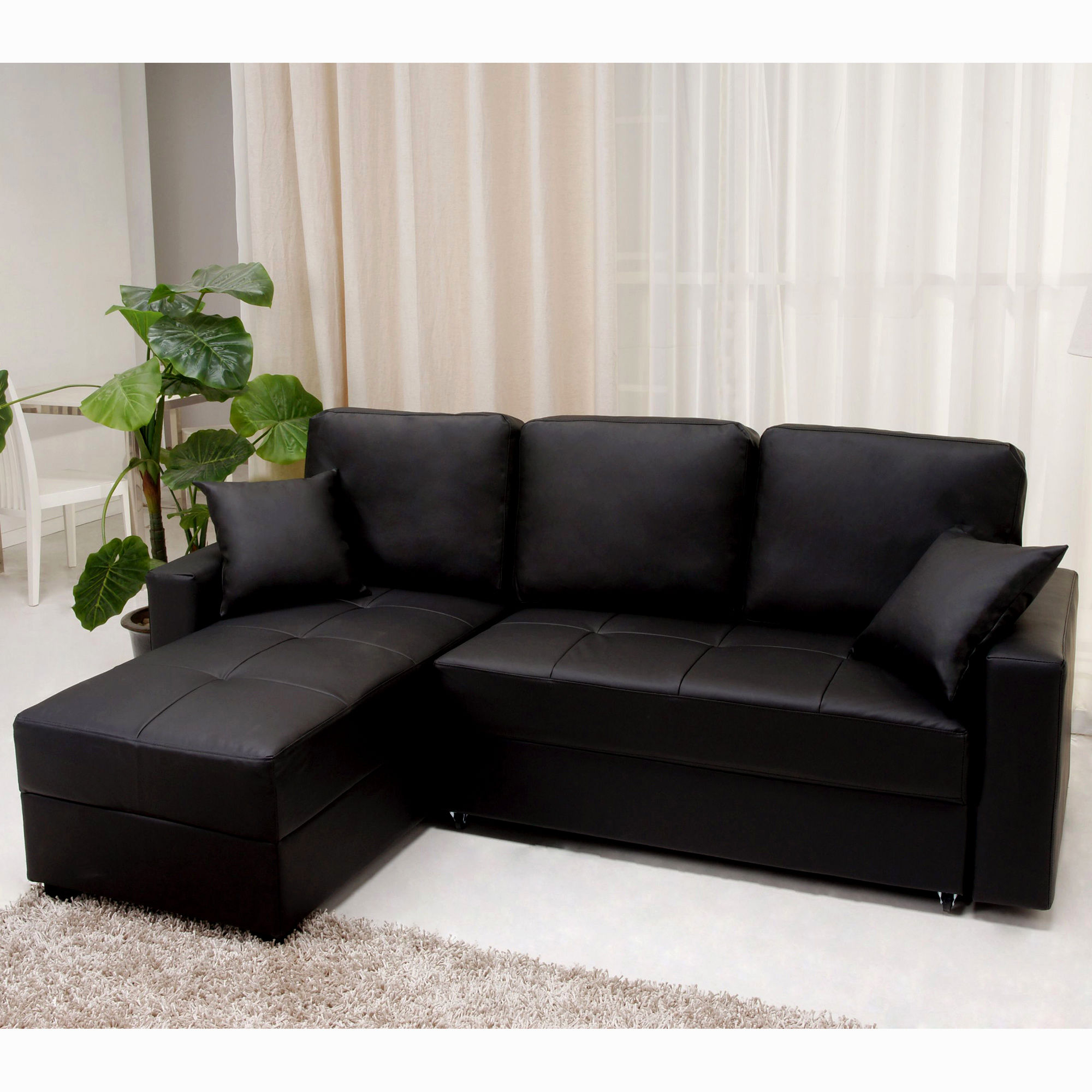 Apartment Size Sectional Sleeper