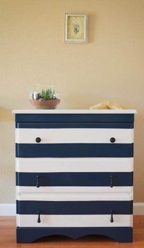 Painted Wood Trays With Handles