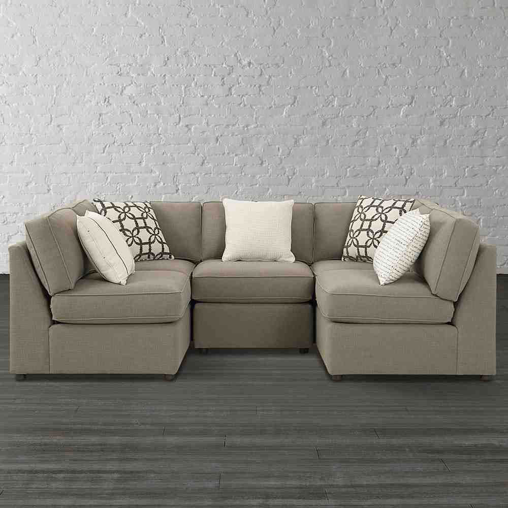 Merveilleux Becky U Shaped Sectional By Bassett Furniture Contemporary Sectional Sofas