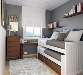 Boy trundle bed