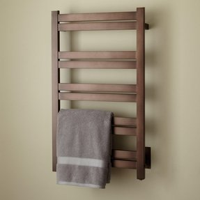 Bronze towel warmer 2