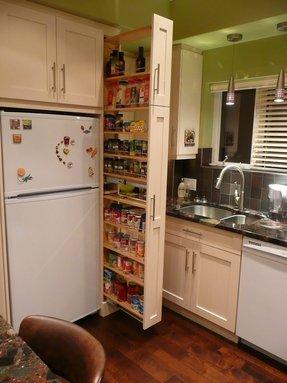 Broom Storage Cabinet