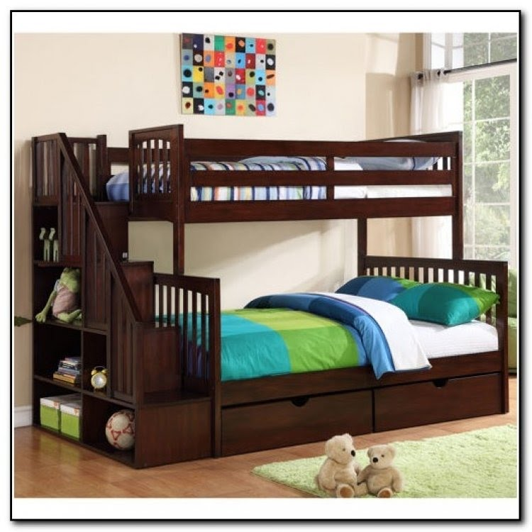 Bookcase Bunk Bed Ideas On Foter