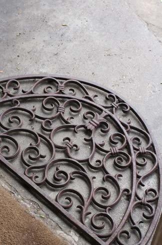 Cast Iron Doormat 1