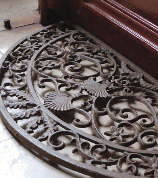 Exceptional Cast Iron Doormat