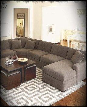Charcoal Sofa Decorating Ideas