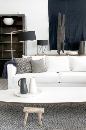 Contemporary sofa slipcovers