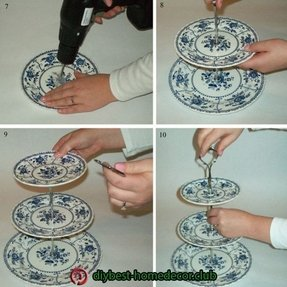 Decorative cake plates 8