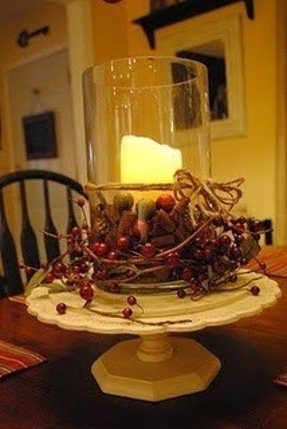 Rustic Hurricane Candle Holders Ideas On Foter