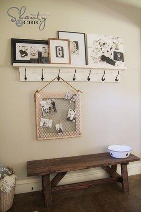 Diy Entryway Shelf
