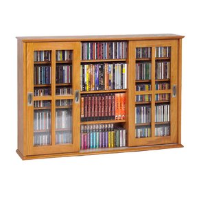 Dvd storage cabinet with doors 1