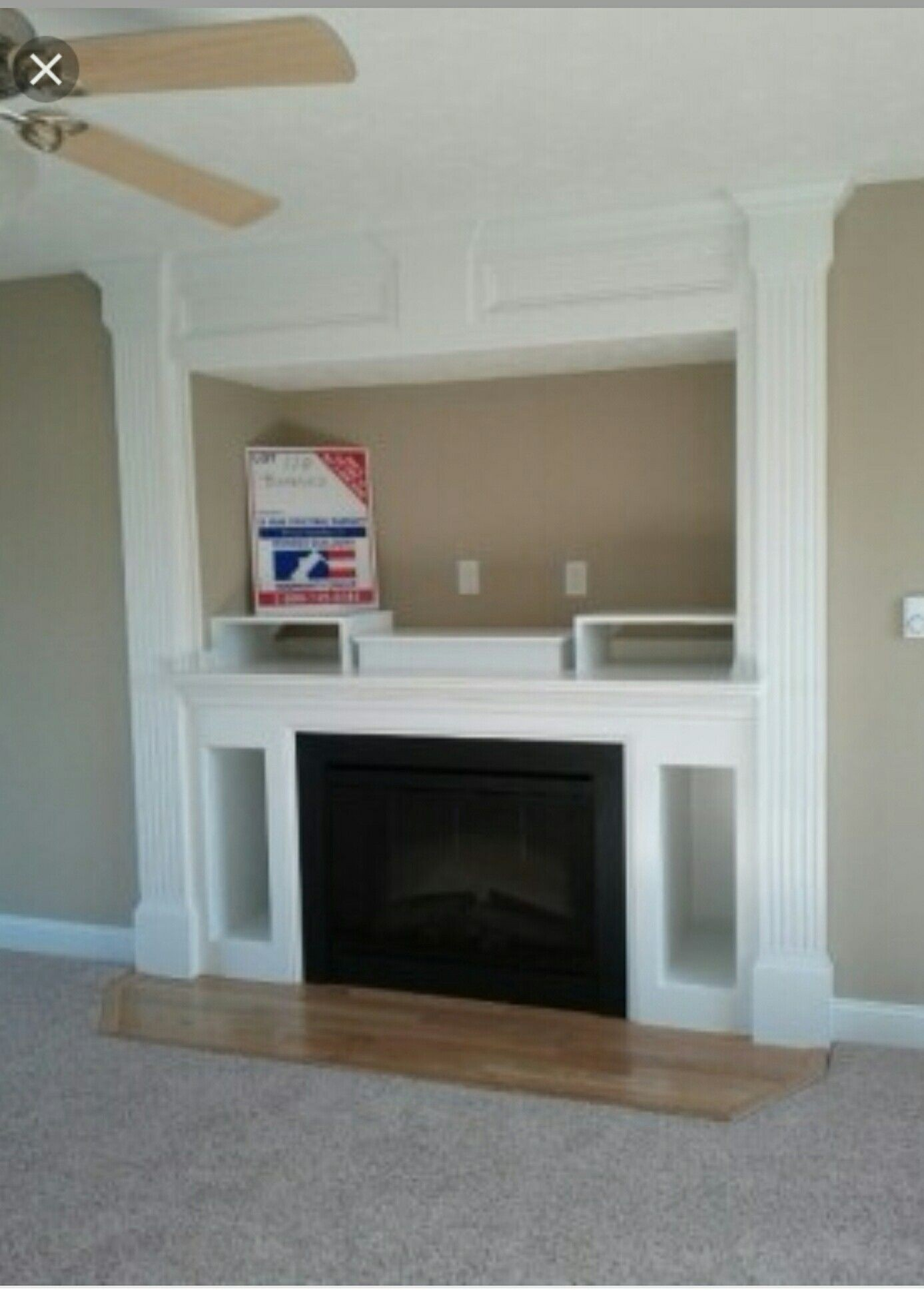 Entertainment Wall Units With Fireplace